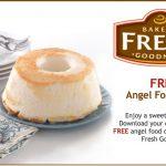 Free Angel Food Cake at Kroger