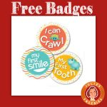 Free Belly Badges from Enfamil