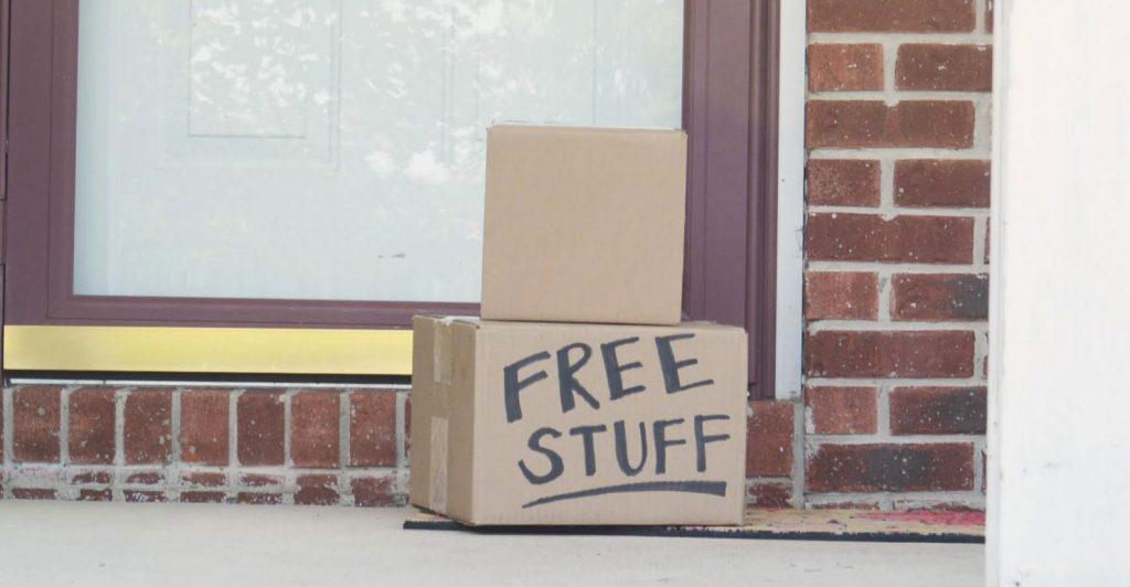 free-stuff-door