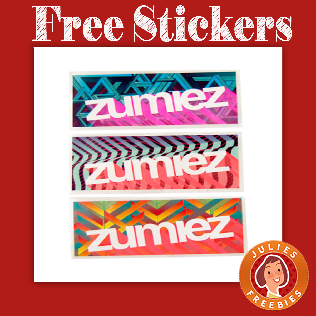 free stickers from zumiez julie 39 s freebies. Black Bedroom Furniture Sets. Home Design Ideas