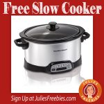 Free Hamilton Beach Slow Cooker