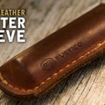 Free Rustico Leather Lighter Sleeve