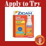 Possible Free Zicam Cold Remedy