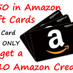 *1st Time Gift Card Purchasers* Free $10 Amazon Credit with a $50 Amazon Gift Card Purchase