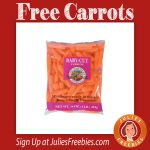 Free Baby Cut Carrots at Giant Eagle