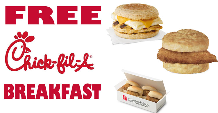 free chick fil a breakfast  »  7 Picture »  Awesome ..!
