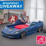 Win a Corvette Toddler Bed