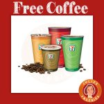 Free Week of Coffee at 7 Eleven
