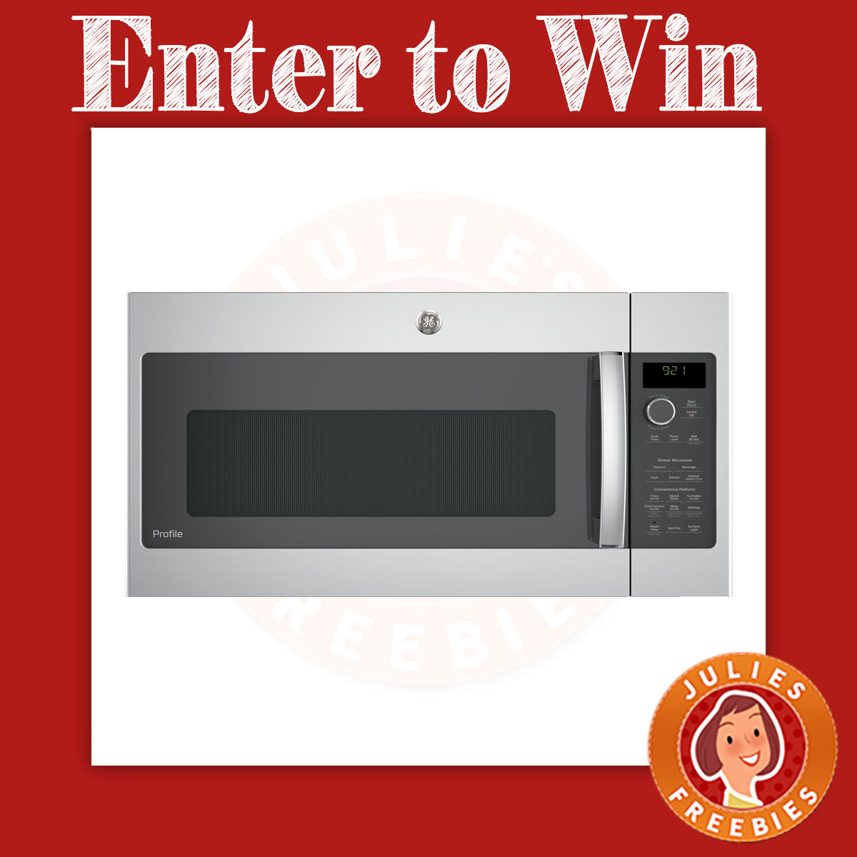 Ge appliances now you 39 re cooking sweepstakes julie 39 s for Enter now to win