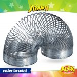 Win a Giant Metal Slinky