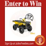 Win a Polaris ATV