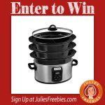 Win a Choose-A-Crock Programmable Slow Cooker