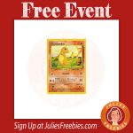 Free Pokemon Trade and Collect Event at Toys R Us on 10/30