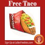 Free Doritos Locos Taco on 11/2
