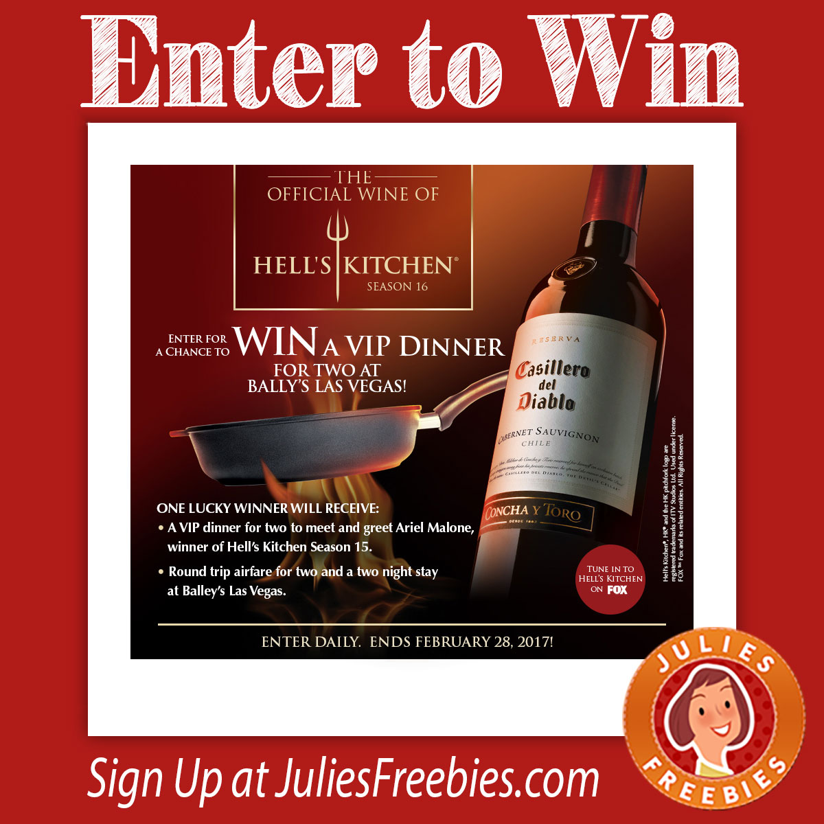 Hell's Kitchen Sweepstakes