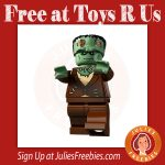 Free LEGO Frankenstein at Toys R Us