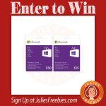 Win a Windows Gift Card