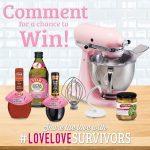Win a Pink KitchenAid Mixer