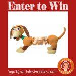 Win a Giant Plush Slinky Dog