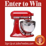 Win a KitchenAid for you and a friend!