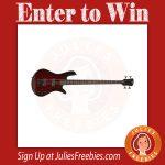 Win a Spector Legend Bass Guitar