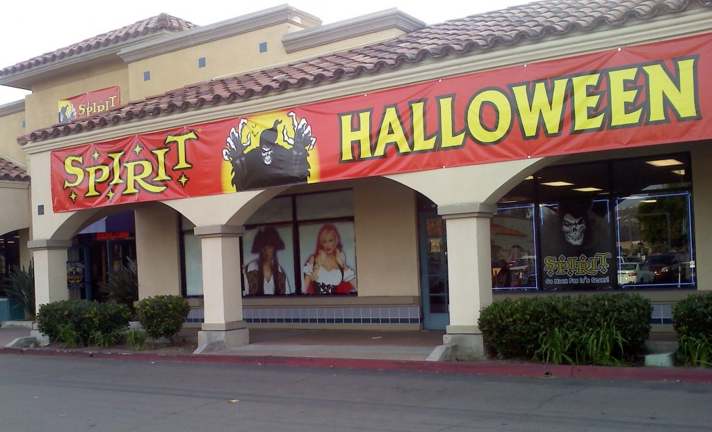 spirt halloween store