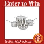 Win a Stainless Steel Cookware Set