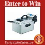 Win a Waring Pro Deep Fryer