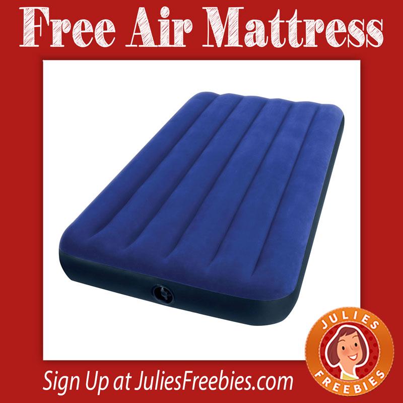 Intex air mattress instructions