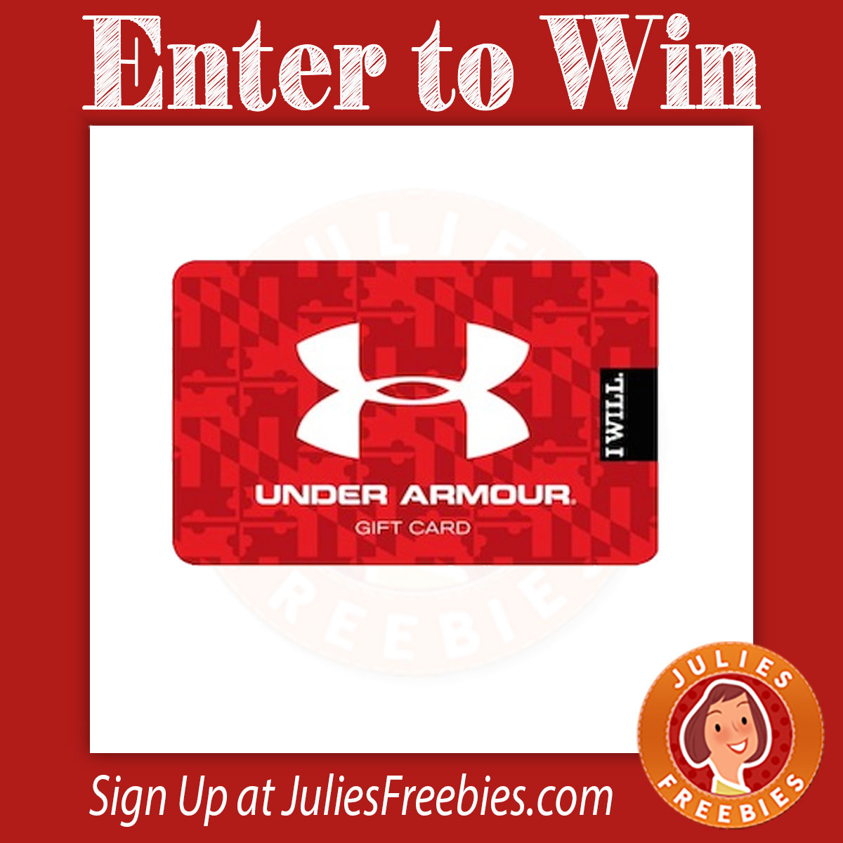 55da1f7b57 Here is an offer where you can enter to win an Under Armour Gift Card.