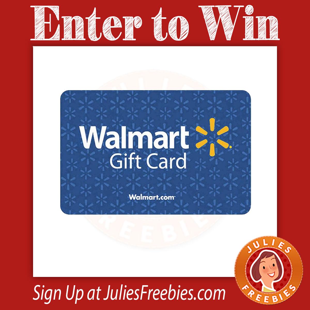 Win A $500 Walmart Gift Card