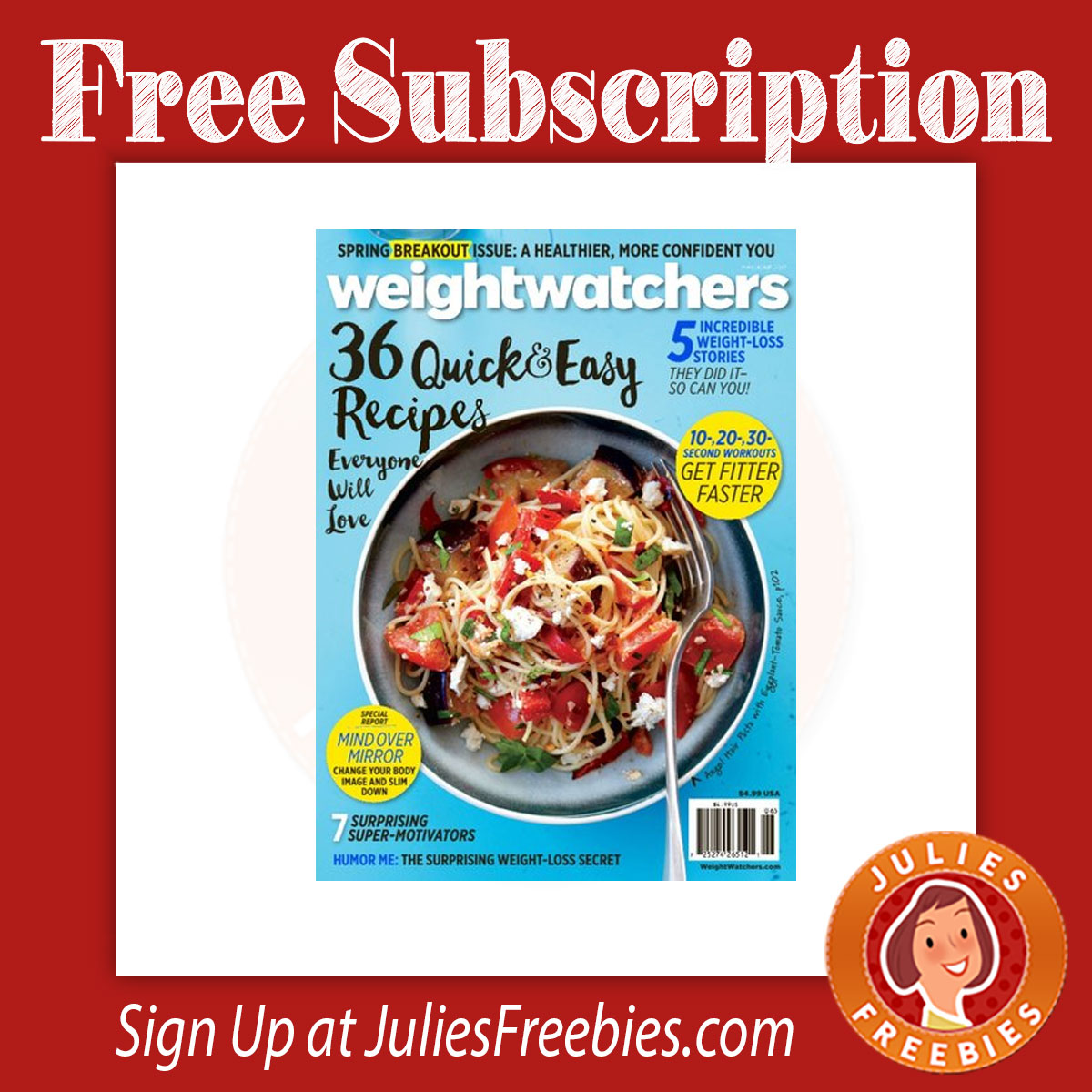 Weight watchers freebies