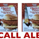 RECALL ALERT: Breaded Chicken Products