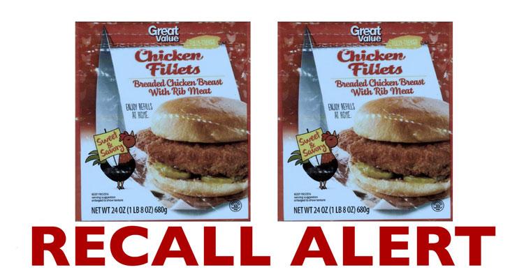 Recall Alert Breaded Chicken Products Julies Freebies