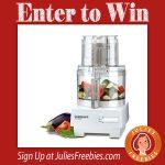 Win a Cuisinart 7 Cup Food Processor