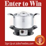 Win a Hammer Stahl Slow Cooker