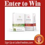 Win a 30 Day Supply of Invia