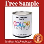 Free Kelly-Moore Paint Sample