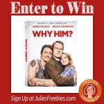 """Win a """"Why Him"""" Blu-Ray DVD"""