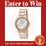Win an Armitron Crystal Analog Watch