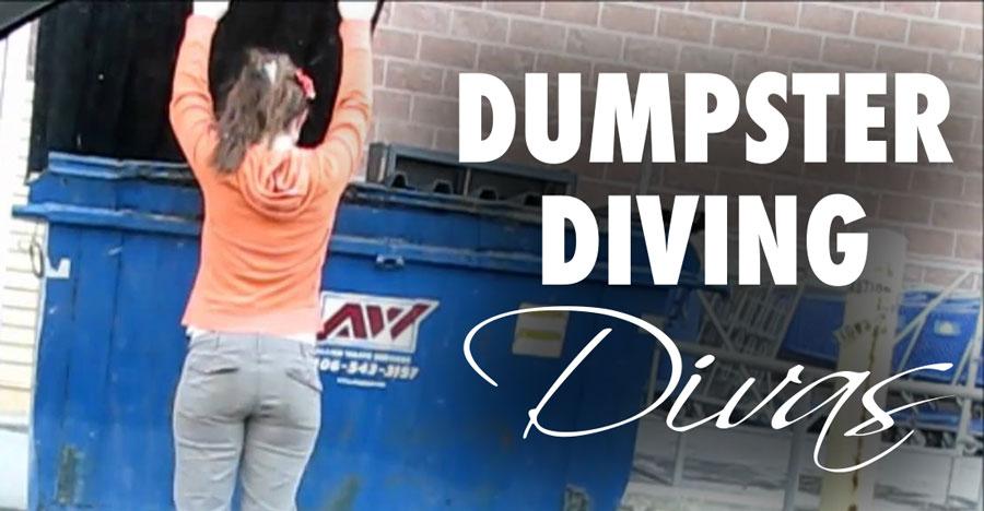 dumpster-diving-divas