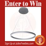 LED Light Fixture Giveaway