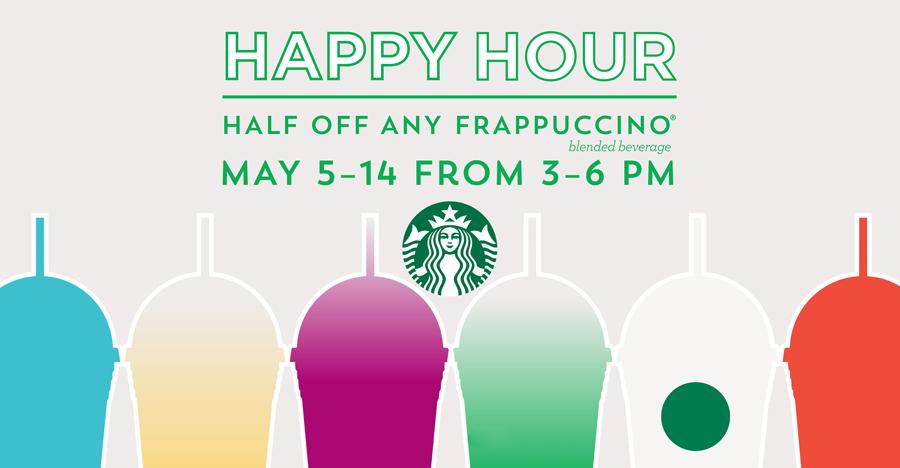 Starbucks Happy Hour is BACK! - Julie's Freebies
