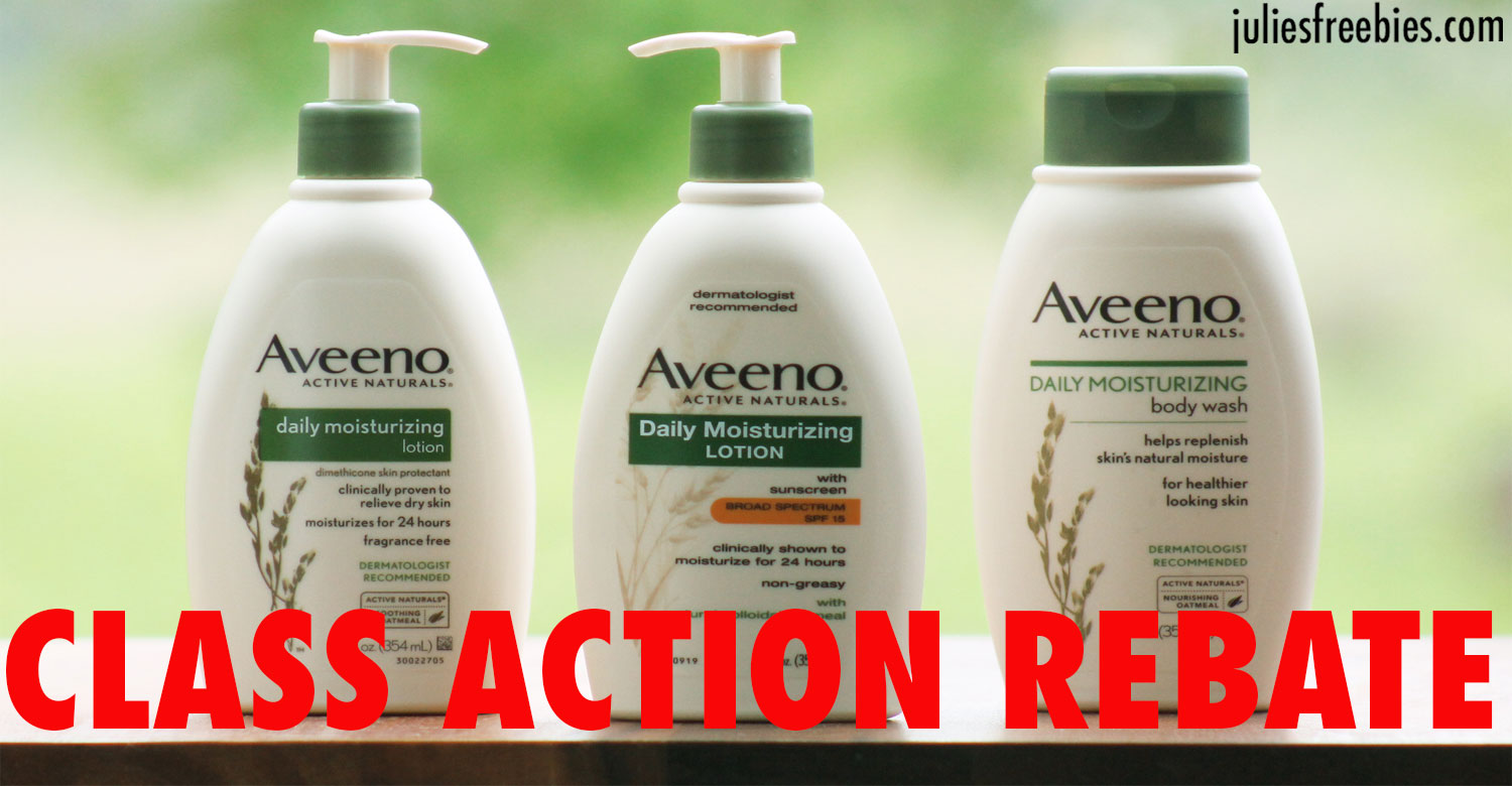 aveenoclassactionrebate