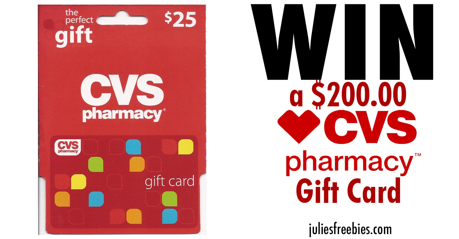 win a  200 cvs gift card