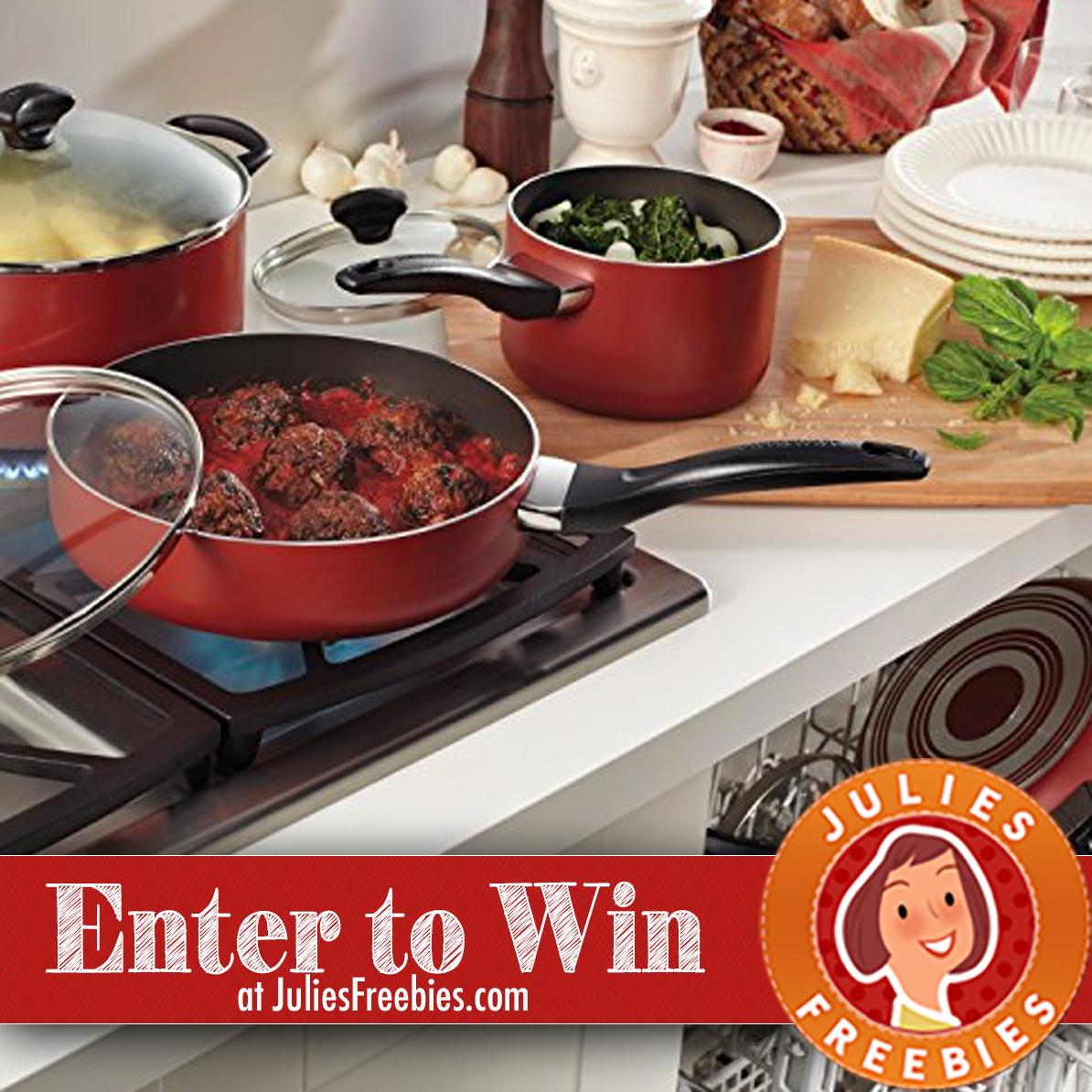 Win a 15 Piece Farberware Cookware Set - Julie's Freebies