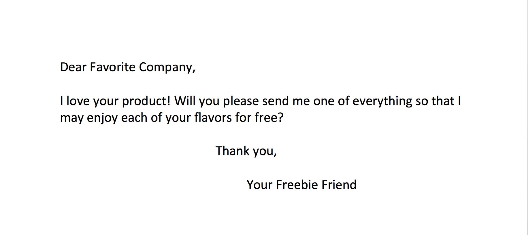 free stuff mail
