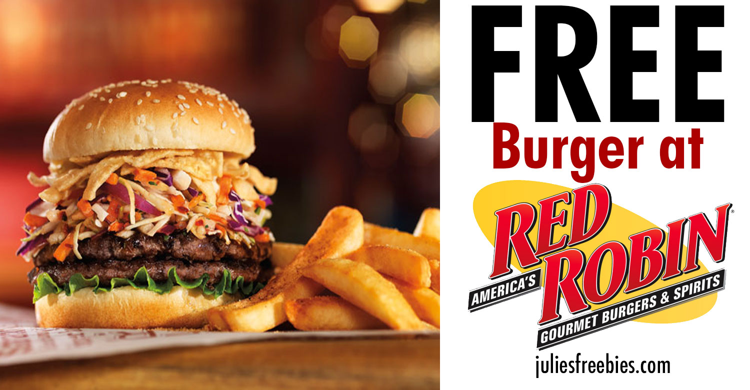 Red robin coupon code 2018