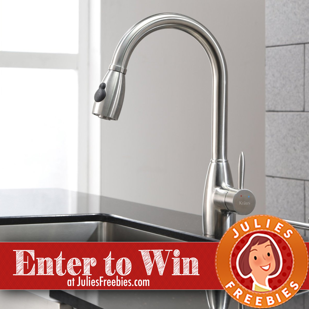 Here is an offer where you can enter to win the krause kitchen faucet giveaway from build