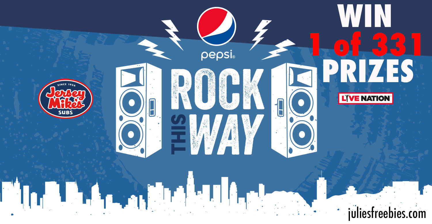 sweepstakes by mail pepsi rock this way sweepstakes freebies list freebies 6472